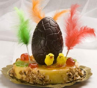 Receta huevos de Pascua de Chocolate