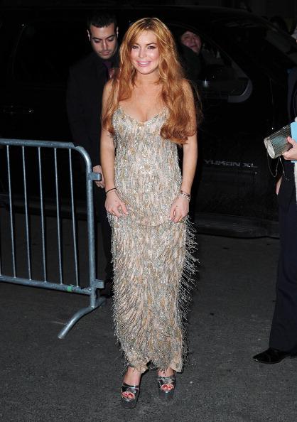 Didem Antebi: Lindsay Lohan AmfAR Gala'da