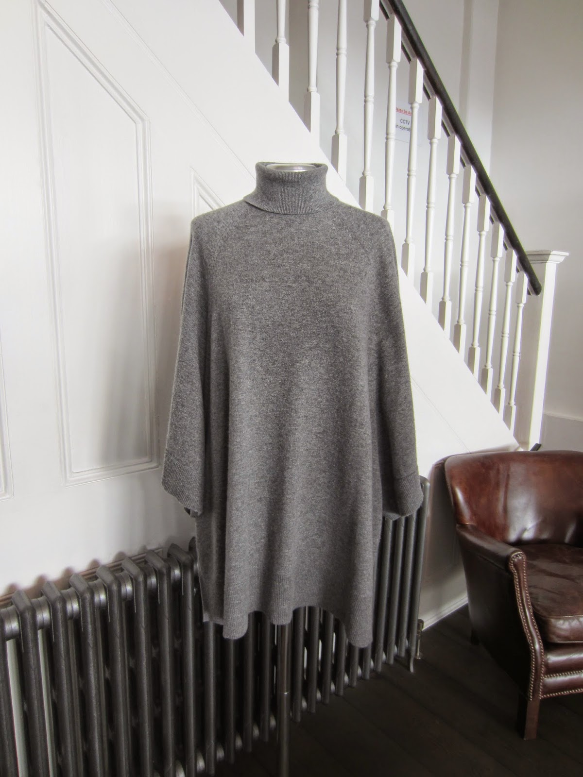 Michael Kors Grey Cashmere Knit