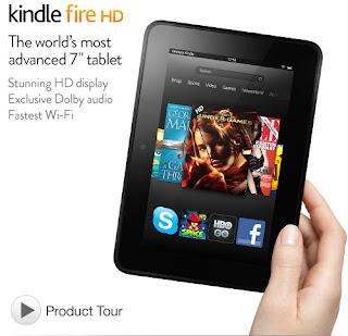 Kindle Fire HD 7-Inch HD Display, Dolby Audio, Dual-Band Dual-Antenna Wi-Fi