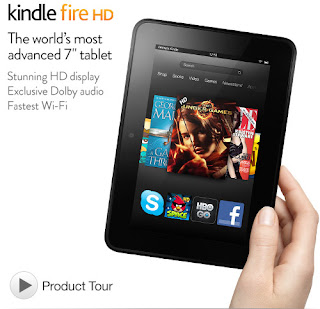 Kindle Fire HD 7-Inch HD Display, Dolby Audio, Dual-Band Dual-Antenna Wi-Fi