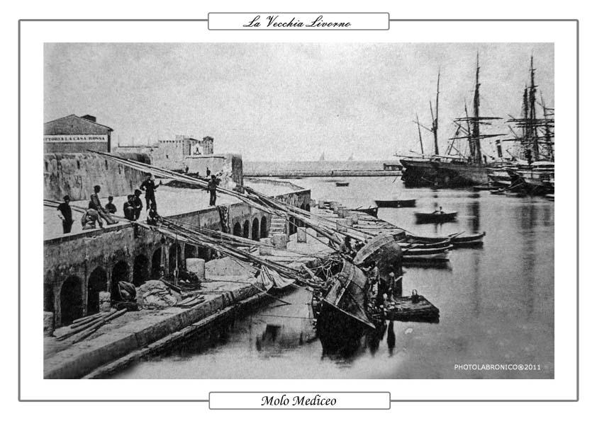 La vecchia livorno immagini d 39 epoca in foto e cartoline for Disegni ponte veranda
