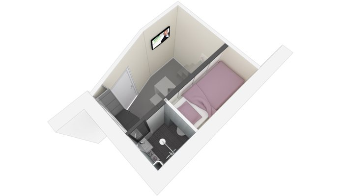 une prouesse de d co dans 8m2 maison d 39 avril devient mati re 555. Black Bedroom Furniture Sets. Home Design Ideas