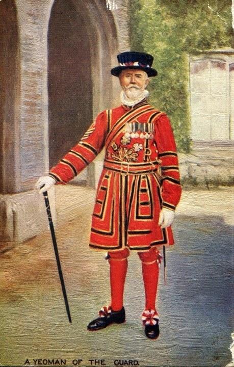 imagen y uniforme de Beefeaters