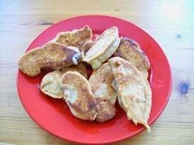 rezept - vegane birnen im schlafrock- mehlspeise
