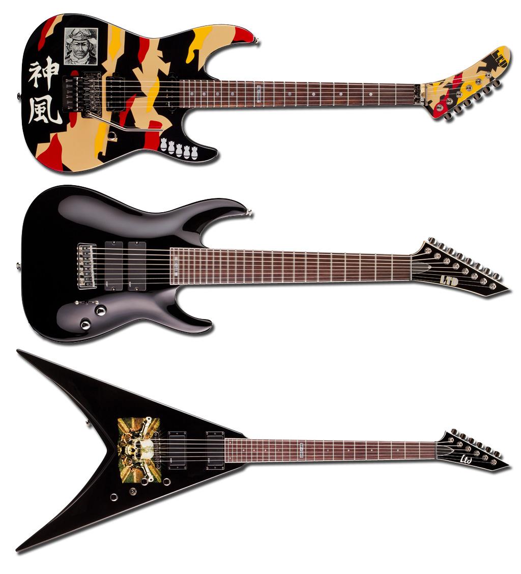 GuitarZone Metallicas Guitars Image