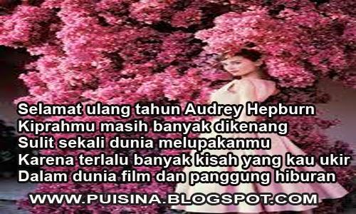Puisi Film Romantis Audrey Hepburn