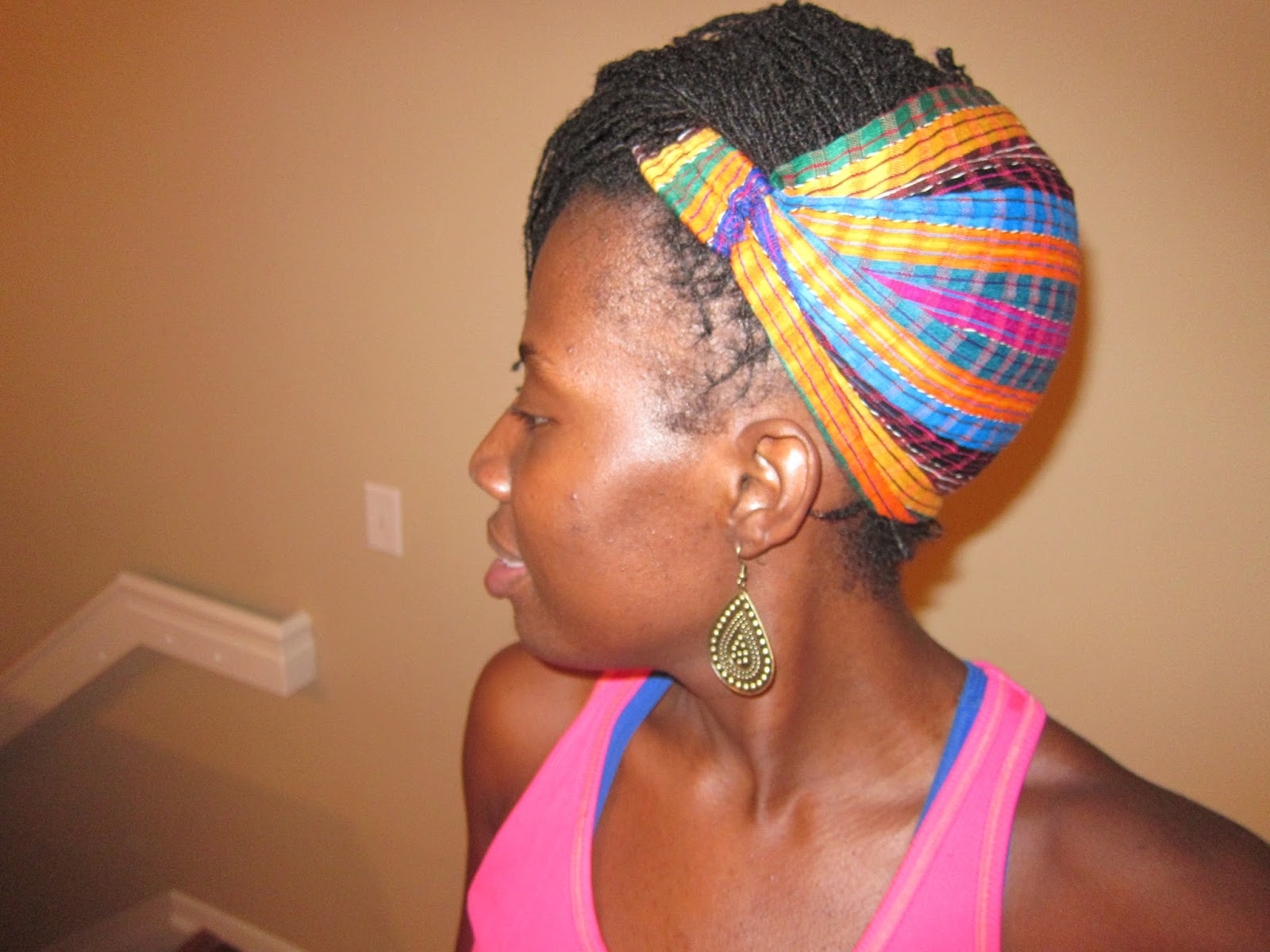 Kreyola s Journeys  Style Edition  A Simple   Chic Updo with Headband b22d9687fe5