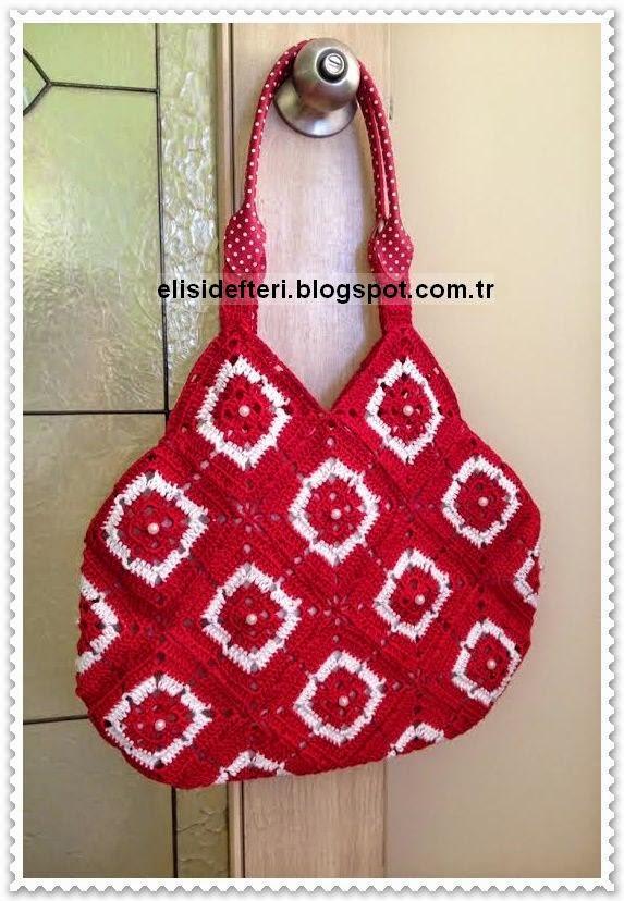 motifli yazlık çanta