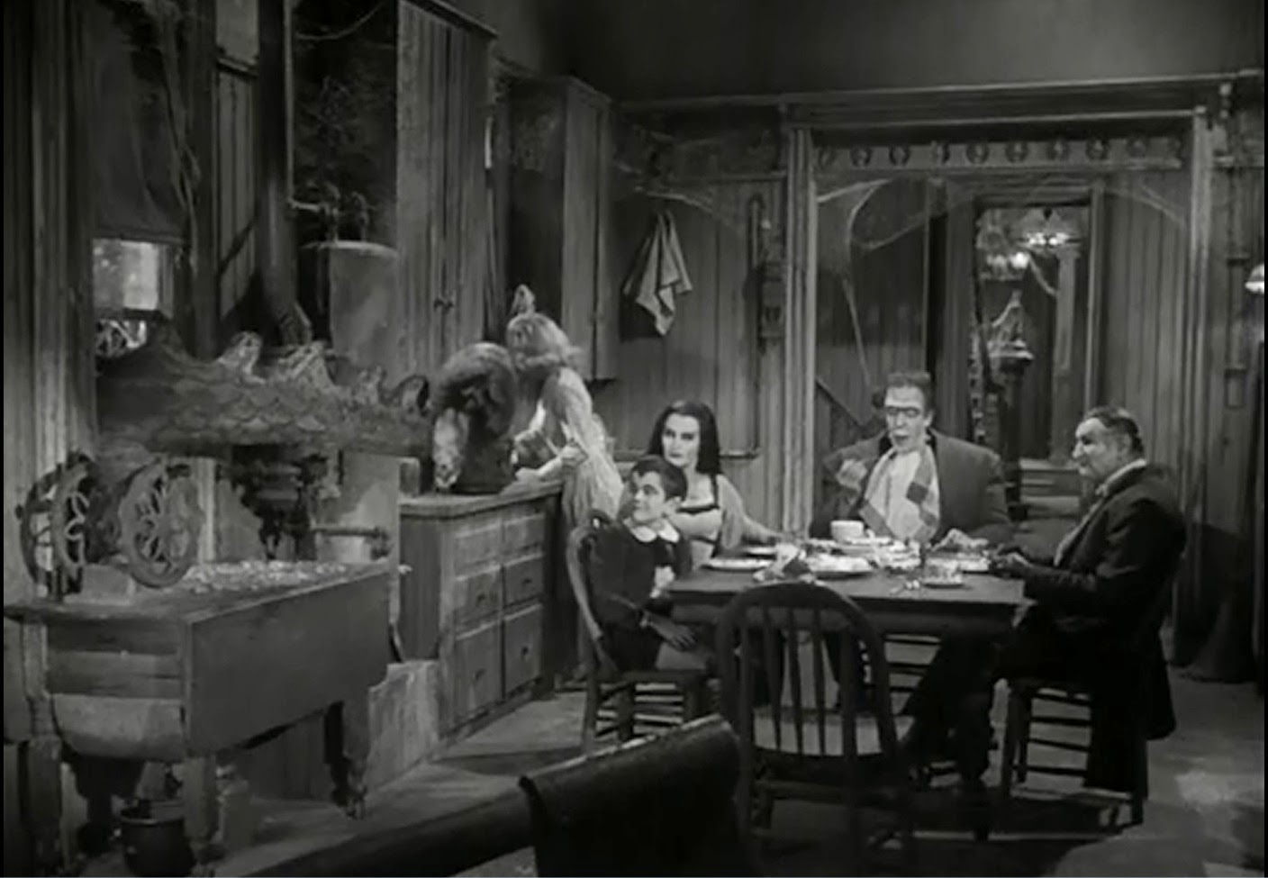 Munsters House Interior The munsters kitchen table