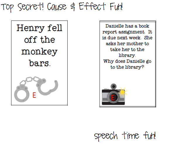 cause and effect short stories