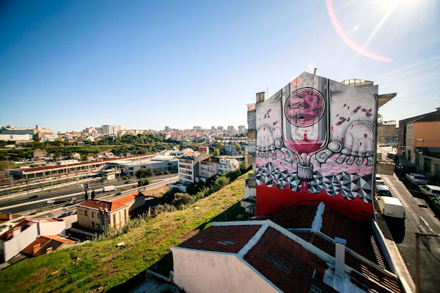 Second Street Art Mural By How Nosm For Underdogs 10 On The Streets Of Lisbon, Portugal 2