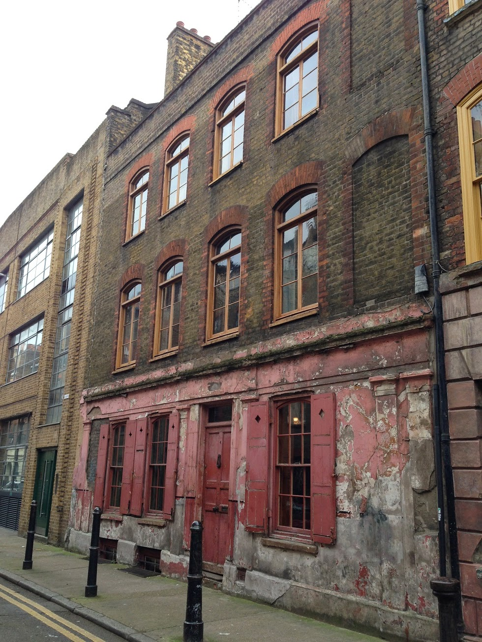 Old buildings, Shoreditch, London
