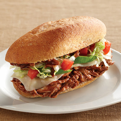 Magnificent Mole Chicken Torta
