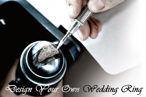 the first step in the design your own wedding ring - Make Your Own Wedding Ring
