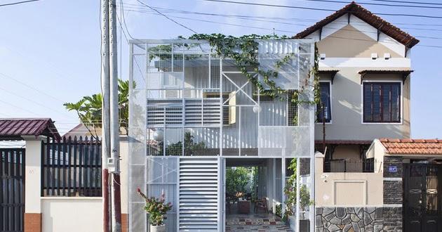 desain rumah tinggal sederhana dua lantai desain rumah