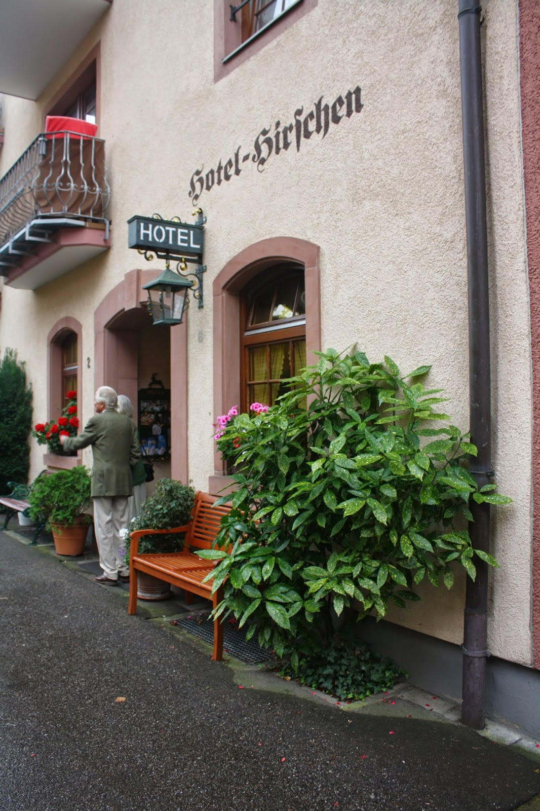Hotel Zum Hirschen Staufen Germany Lace Up and Walk