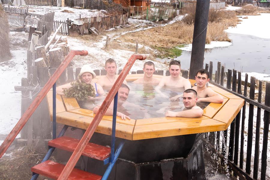 Открытие зимнего купального сезона