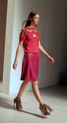 Marios Schwab for SS13 skirt and sweater