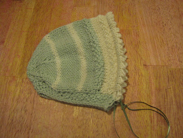 Heirloom Baby Bonnet Pattern