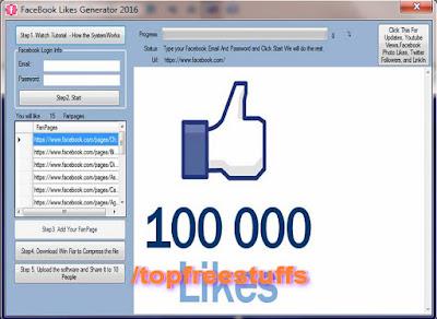 FaceBook Likes Generator 2016