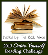 Outdo Yourself Reading Challenge! Wow! This means 105 books for 2013! Wow!