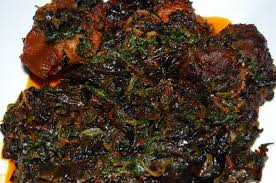 Image result for pot of Nigerian vegetable soup