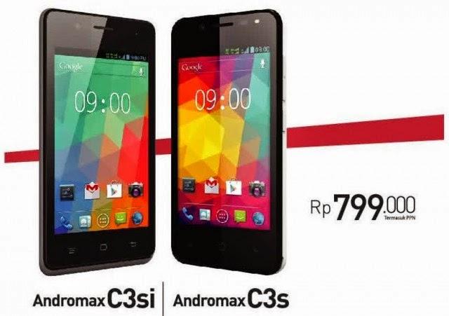 Andromax C3S dan C3Si