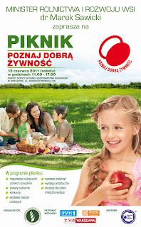 Piknik Programu Poznaj Dobrą Żywność