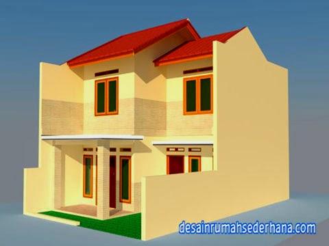desain rumah sederhana untuk renovasi kpr-type 21 standard