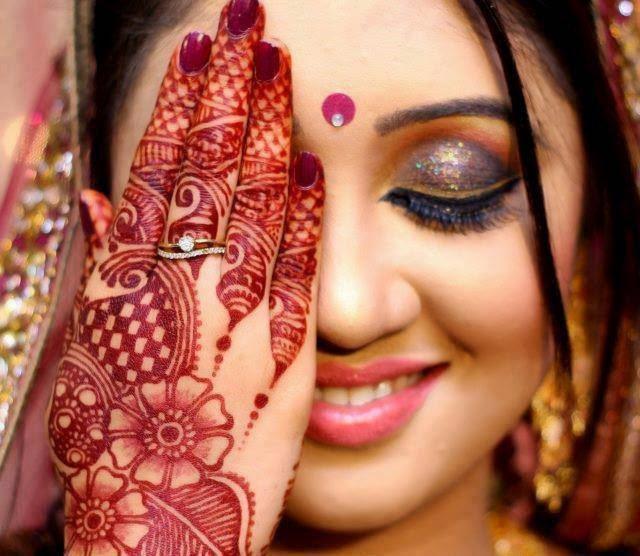 Mehndi For Marriage Girl : Beautiful latest simple arabic pakistani indian bridal
