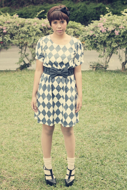 alice in wonderland, dress, outfit, fashion, style, trend, vintage dresses, black wedges,lush serendipity, closetmino