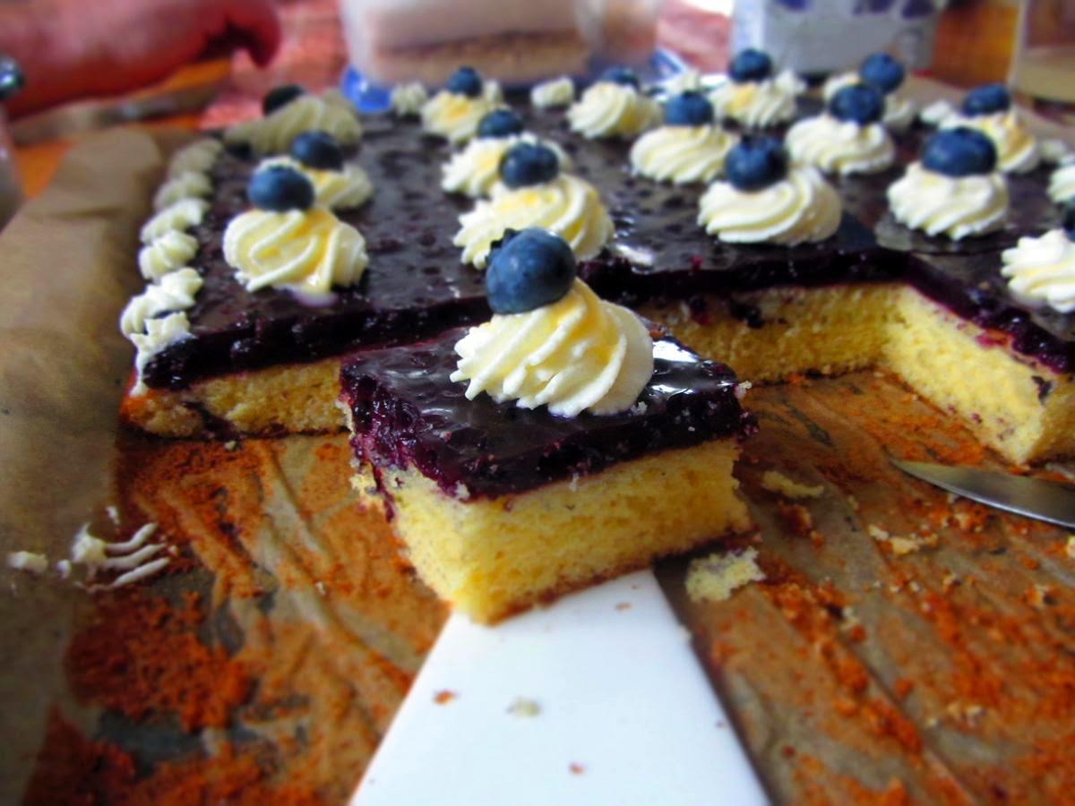 Kuchen Aus Dem Blech Nehmen Appetitlich Foto Blog F R Sie