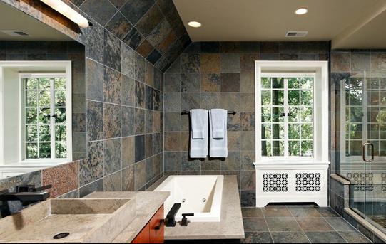 Accesorios De Baño Colocados:Baños Modernos