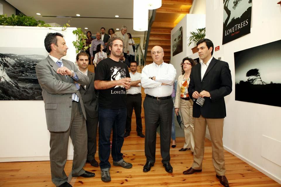 Inauguração da Exposição de Zito Colaço no Espaço de Cultura Vila Alda em Sintra