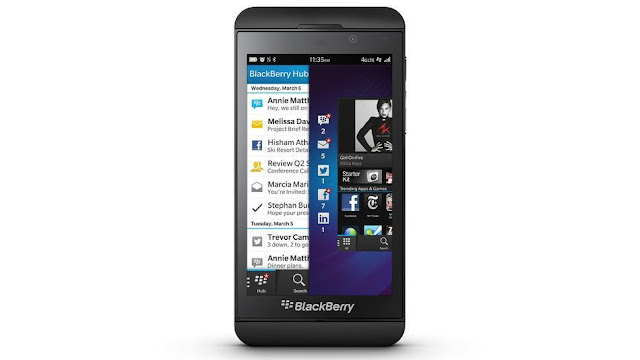How to take a Screen Shot on the new Blackberry 10 operating system smart phones