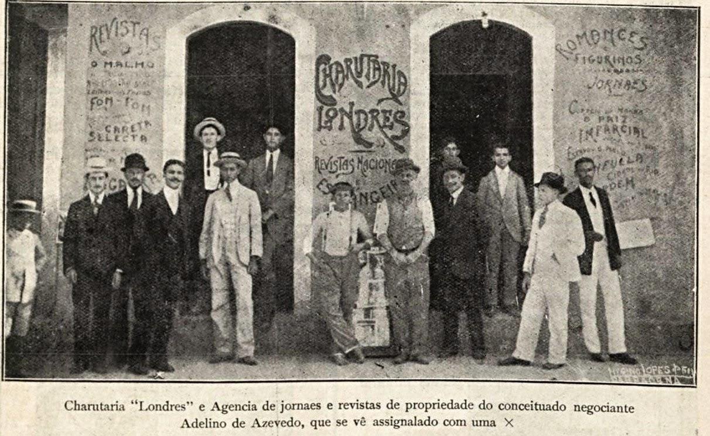 CHARUTARIA EM BARBACENA 1915