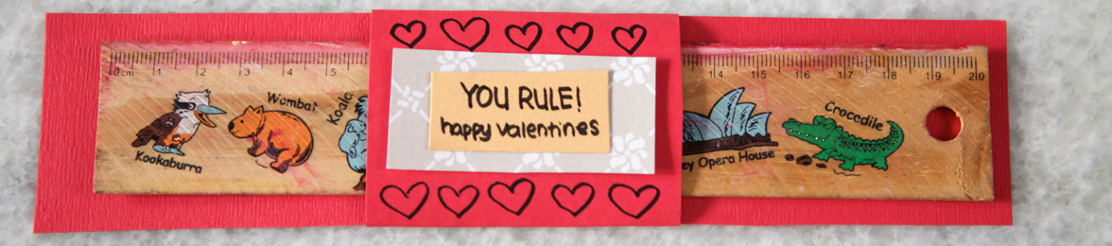 Four Funny Valentines Day Card Pickup-Lines