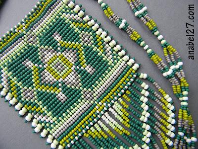 бисер бисероплетение станочное ткачество гердан гайтан блог