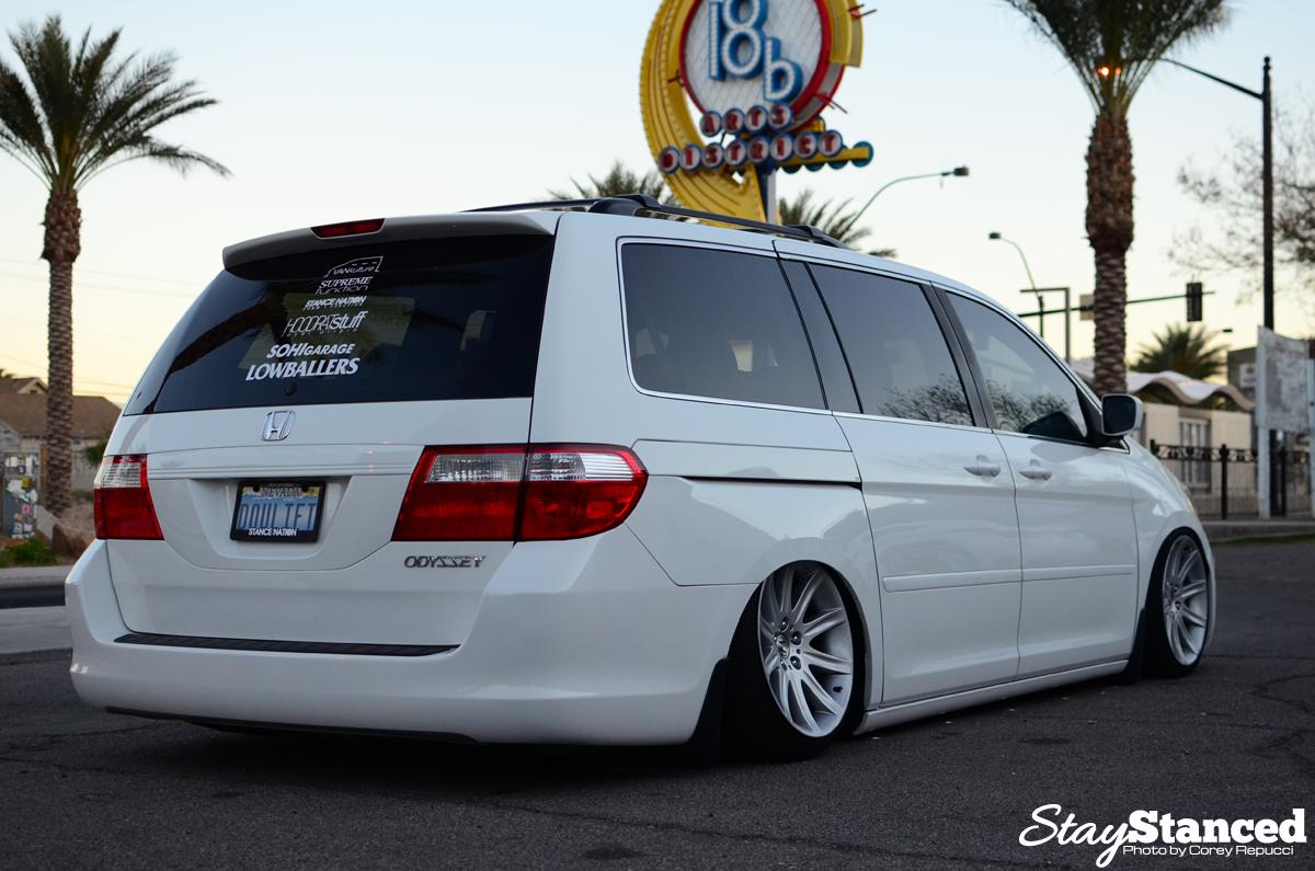 Jimmy Francos Bagged Honda Odyssey On BMW 7 Series Wheels