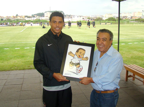 Ronaldo por Mauricio de Souza