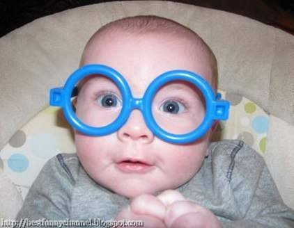 funniest kid in toy glasses