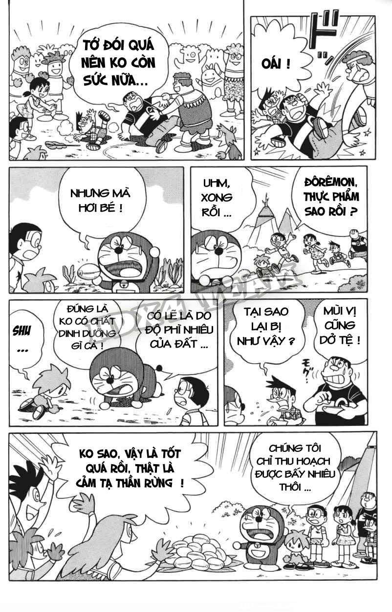 Truyện tranh Doraemon Dài Tập 25 - Nobita và truyền thuyết thần rừng trang 150