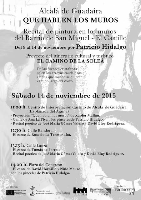 Muros que hablan flamenco en Alcalá de Guadaíra