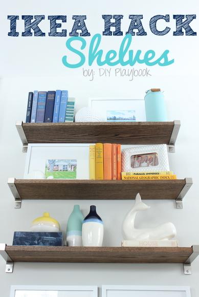 Ikea Hack Rustic Shelves Revisited Diy Playbook