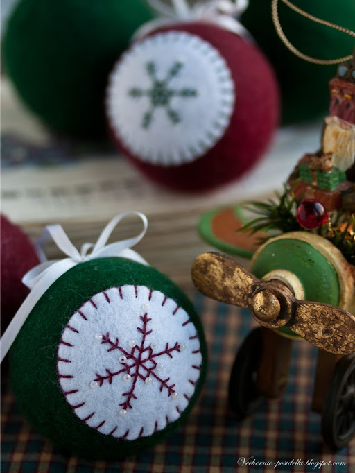 christmas craft ideas: felt ball tutorial
