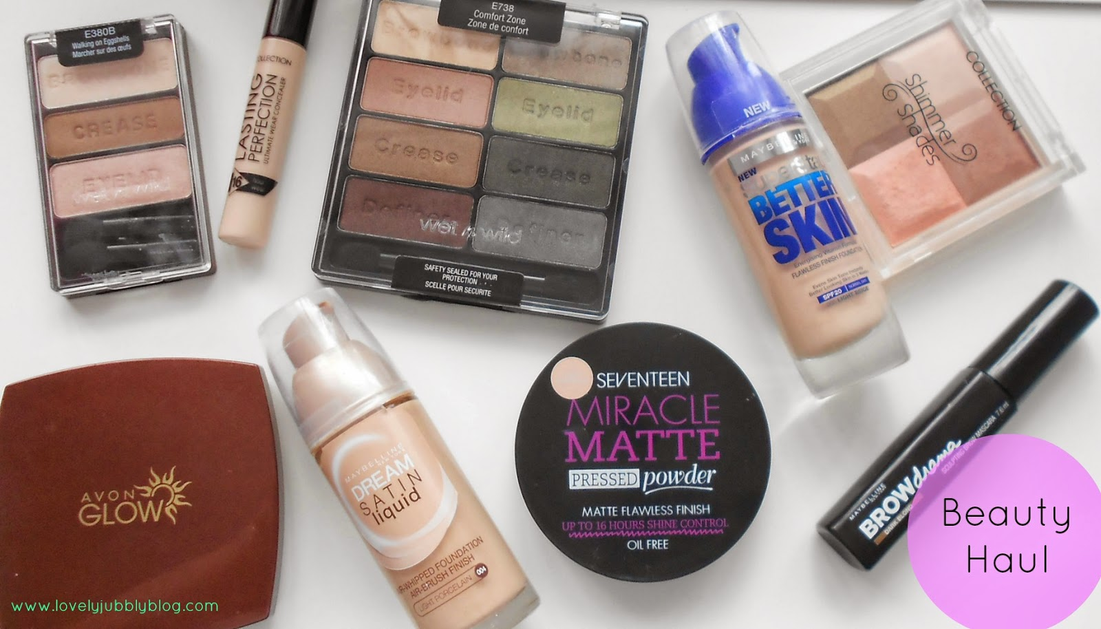 boots superdrug haul avon wet n wild uk maybelline seventeen collection