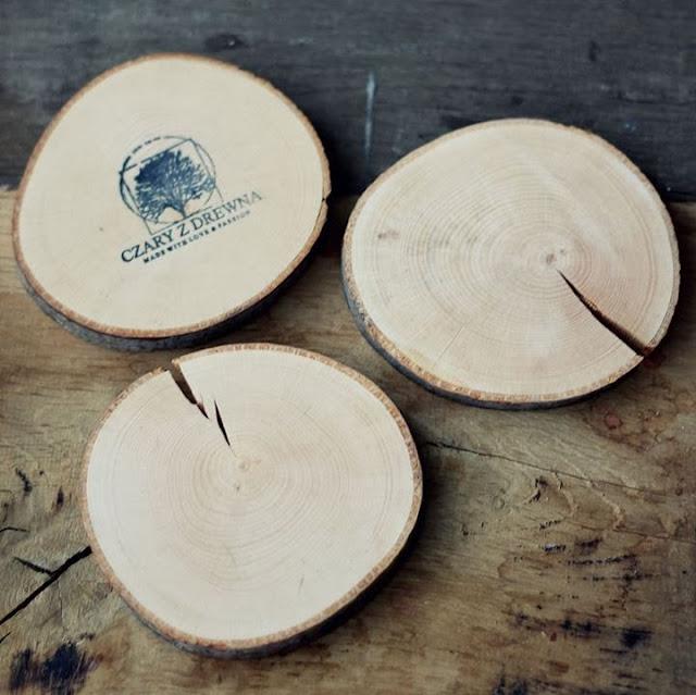 Wooden mug pads, interior design