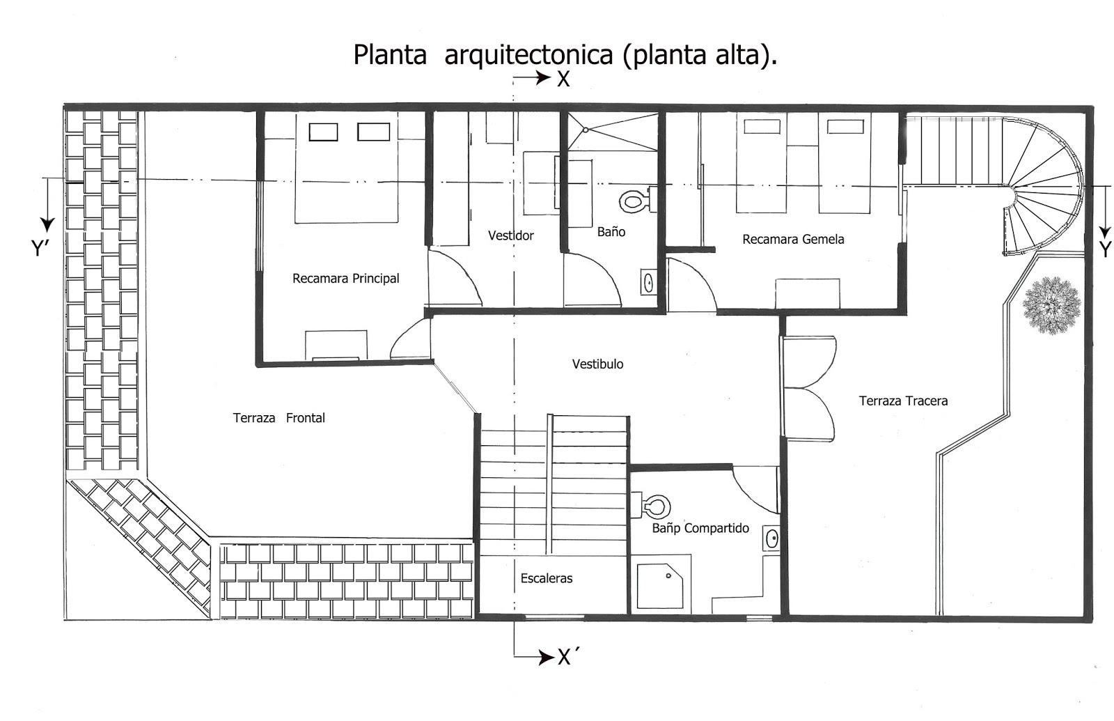 Casa habitaci n ardicon arquitectura dise o y for Que es una planta arquitectonica