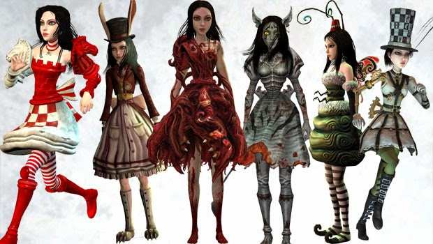 alice madness returns trajes dlc